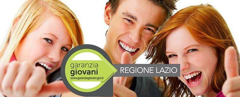 """Progetto """"Garanzia Giovani"""" finanziato dalla Regione Lazio"""