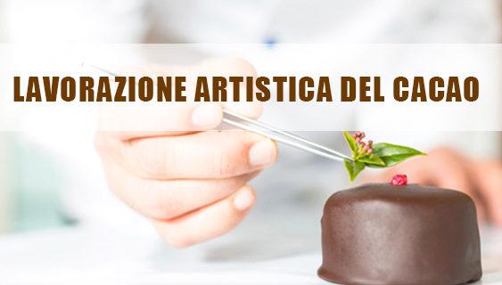 Lavorazione artistica del cacao